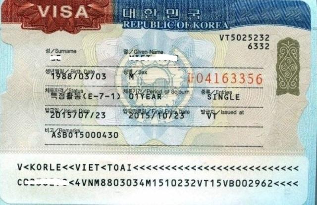 Đi Hàn Quốc theo visa E7 khó hay dễ?