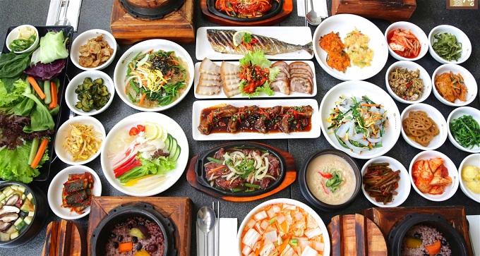 Nền ẩm thực Hàn Quốc vô cùng phong phú và đa dạng