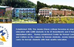 Trường Đại học Jeonju Kijeon Hàn Quốc